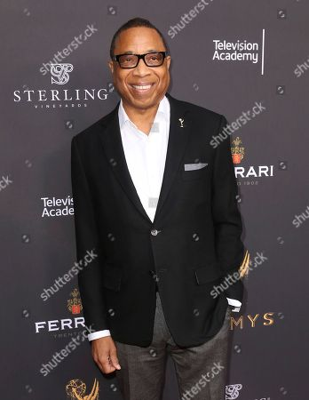 """Hayma Washington Hayma """"Screech"""" Washington, chairman and CEO, the Television Academy, arrives at the Performers Peer Group Celebration at the Montage Hotel, in Beverly Hills, Calif"""