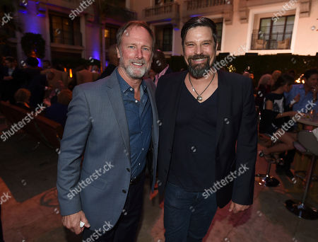 Louis Herthum, left, and guest attend the Television Academy's 2017 Performers Peer Group Celebration of the 69th Emmy Awards at Montage Beverly Hills, in Beverly Hills, Calif