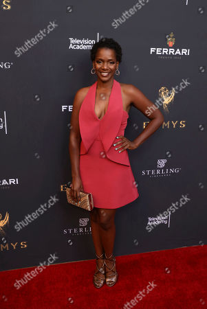Zee James attends the Television Academy's 2017 Performers Peer Group Celebration of the 69th Emmy Awards at Montage Beverly Hills, in Beverly Hills, Calif