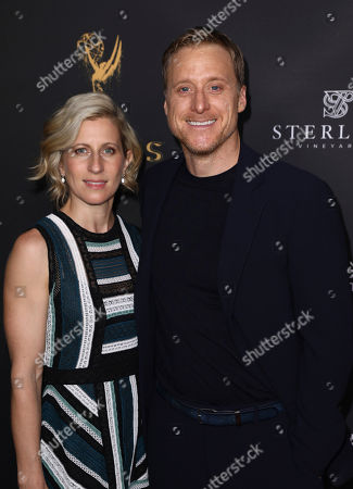Charissa Barton, Alan Tudyk Charissa Barton, left, and Alan Tudyk attend the Television Academy's 2017 Performers Peer Group Celebration of the 69th Emmy Awards at Montage Beverly Hills, in Beverly Hills, Calif