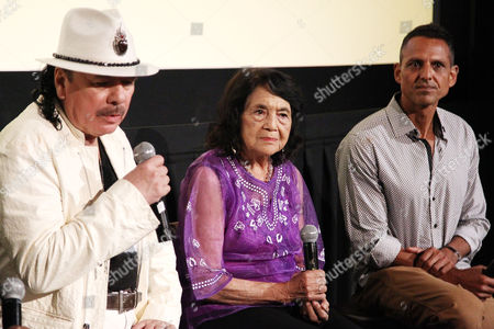 Carlos Santana, Dolores Huerta, Peter Bratt