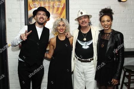 Salvador Santana, Stella Santana, Carlos Santana, Cindy Blackman
