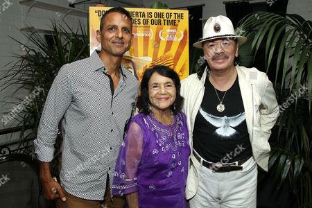 Peter Bratt, Dolores Huerta, Carlos Santana
