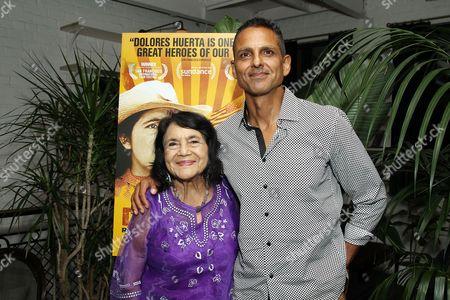 Stock Picture of Dolores Huerta, Peter Bratt