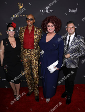 Michelle Visage, RuPaul, Delta Work, Ross Matthews Michelle Visage, and from left, RuPaul, Delta Work, and Ross Matthews attend the Television Academy's 2017 Performers Peer Group Celebration of the 69th Emmy Awards at Montage Beverly Hills, in Beverly Hills, Calif