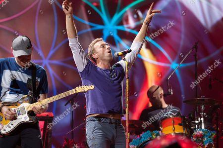 Jonny Buckland, Chris Martin
