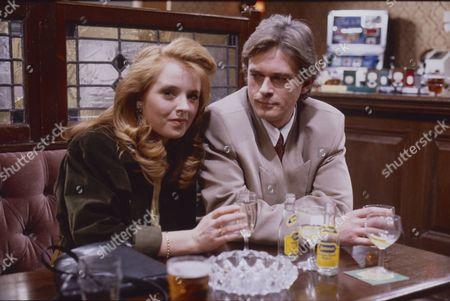 Sally Ann Matthews (as Jenny Bradley) and Philip Bretherton (as Robert Weston)