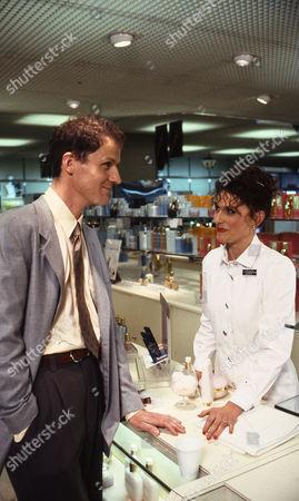 Stock Photo of Peter Gowen (as Simon Beatty) and Amelia Bullmore (as Steph Barnes)
