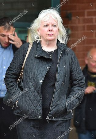 Editorial picture of Sadie Hartley Murder Trial At Preston Crown Court Preston Lancs. - Julie Taylor The Best Friend And Business Partner Of Sadie Hartley Pic Bruce Adams / Copy Norton - 4/8/16.