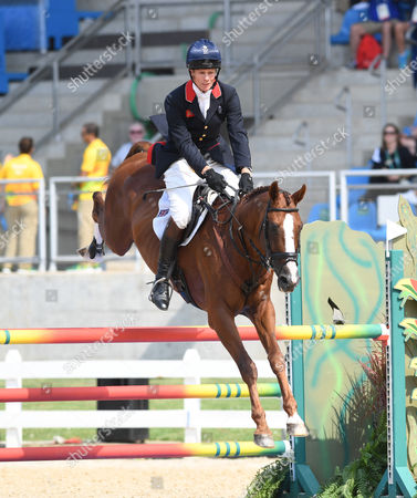 William Fox-pitt Rides Chilli Morning In The Eventing Team Event At The Rio 2016 Olympics.