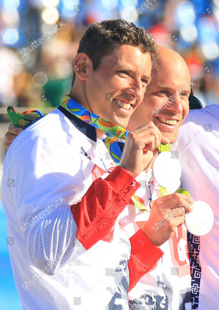 David Florence And Richard Hounslow Take Silver In The Men's Final Of The Canoe Double (c2) At The Whitewater Stadium Rio De Janeiro. Rio 2016. 11.08.16.