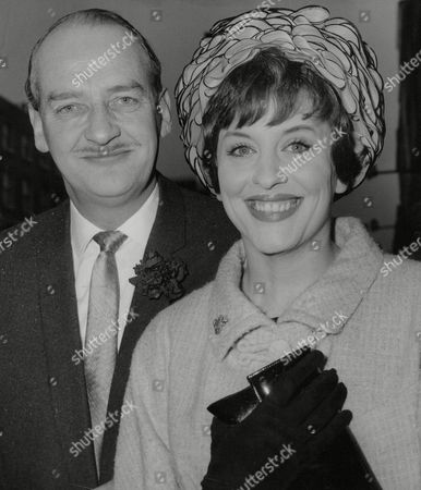 Actress Frances Bennett And Husband John Mcmichael A Leading Theatrical Agent. Box 713 828101627 A.jpg.