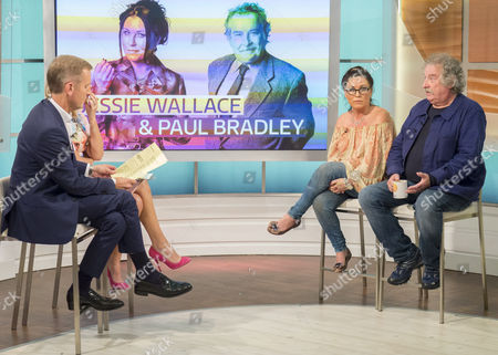 Jeremy Kyle and Kate Garraway with Jessie Wallace and Paul Bradley