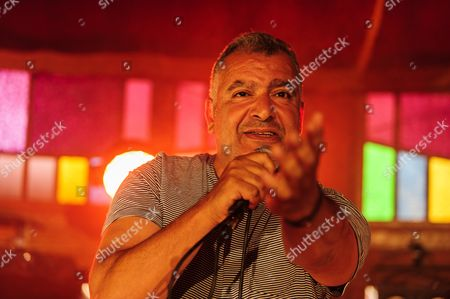 The french singer Magyd Cherfi performs live at the BSF