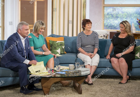 Eamonn Holmes and Ruth Langsford with Clare Muldoon and Sally Jones