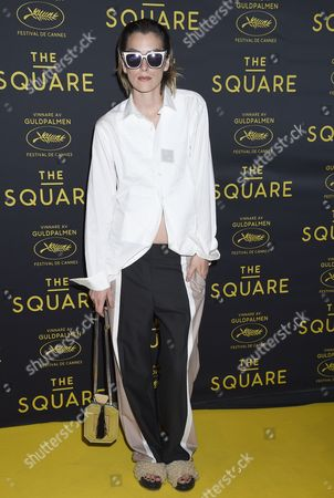 Editorial image of 'The Square' film premiere, Stockholm, Sweden - 21 Aug 2017