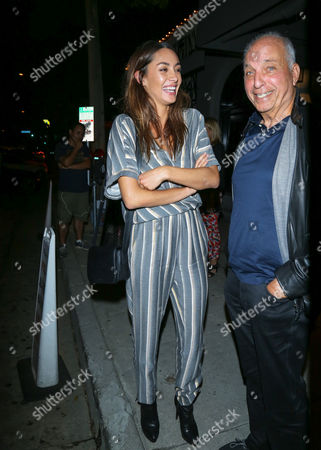 Editorial picture of Celebrities at Craig's Restaurant, Beverly Hills, Los Angeles, USA - 21 Aug 2017
