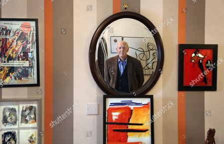 Editorial photo of Brian Aldiss photoshoot, Oxford, UK - 13 Jul 2015
