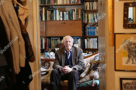 Editorial picture of Brian Aldiss photoshoot, Oxford, UK - 13 Jul 2015