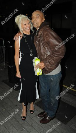 Debbie McGee and Kenny Lynch