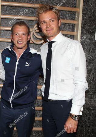 Fabian Hambuchen, Nico Rosberg