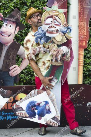 Editorial image of 'Tadeo Jones 2: El secreto del Rey Midas' film photocall, Madrid, Spain - 22 Aug 2017