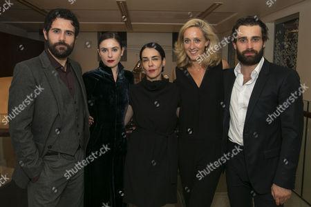 Matt Ryan (Gilbert), Judith Roddy (Young Woman), Yael Farber (Director), Kate Pakenham (Executive Producer) and Christian Cooke (Pony William)
