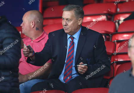 EX England, Arsenal and Crystal Palace player Kenny Sansom watches Crystal Palace v Ipswich Town from the stands at Selhurst Park Stadium during the Carabao English League Cup match on 22nd August 2017 at Selhurst Park Stadium, Croydon, London.