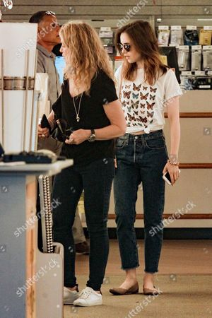 Lily Collins and Jill Tavelman