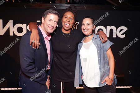 Christopher Racster - Exec. Director, OUTFEST, Lena Waithe and Lucy Mukerjee-Brown - Director of Programming, OUTFEST