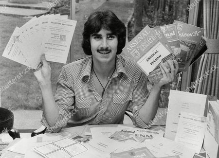 Marvin Berglas Collector Of Football Programmes Who Wanted To Organise A Programme Fair. His Idea Quickly Expanded To Dealers Of Other Collectables And Now The Humble Programme Fair Has Exploded Into A Collectors Convention. Box 714 801111643 A.jpg.