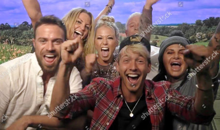 Finalists Chad Johnson, Sarah Harding, Amelia Lily Oliver, Derek Acorah, Sam Thompson and Jemma Lucy
