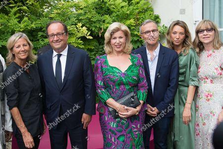 Claire Chazal, Francois Hollande, Dominique Ouattarta, Philippe Besson, Laura Smet, Denise Robert, Stefi Celma