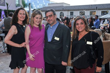 Susan Spencer, Karla Loor Kitchel, Frank Scherma, Nicole Marostica Susan Spencer, Karla Loor Kitchel, Frank Scherma and Nicole Marostica attend The Television Academy's 2017 Executives Emmy Celebration at The Montage Hotel on in Beverly Hills, Calif
