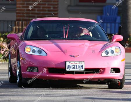 Angelyne's car