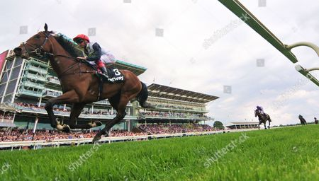 Cracksman and Frankie Dettori win the Betway Great Voltieur Stakes at York for trainer John Gosden and owners Mr and Mrs Anthony Oppenheimer.