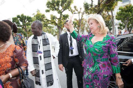 First Lady Dominique Folloroux-Ouattara