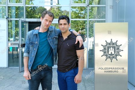 Stock Image of David Rott and Daniel Rodic