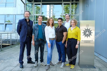 Editorial picture of Photocall at set of RTL TV series Bad Cop, Hamburg, Germany - 23 Aug 2017
