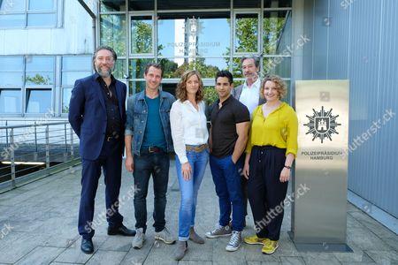 Stock Photo of Nicki of Tempelhoff, David Rott, Alma Leiberg, Daniel Rodic, Günter Barton, Victoria Fleer