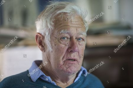 Editorial picture of Richard Ingrams photoshoot, Aldworth, Berkshire, UK - 10 Aug 2017