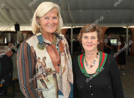 Ursula Plassnik and Helga Rabl Stadler