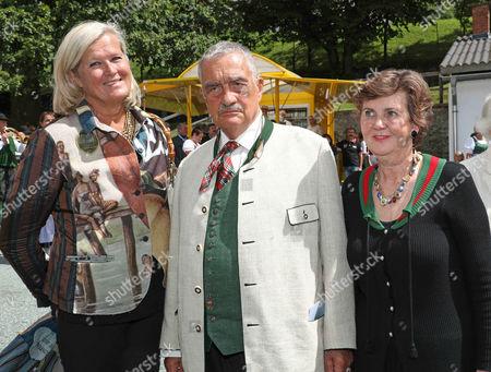 Ursula Plassnik, Karel Fuerst Schwarzenberg, Helga Rabl-Stadler