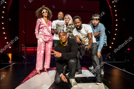 Solange Knowles, Donnell Rawlings, Ashley Barnhill, Wil Sylvince, DJ Trauma and Dave Chappelle