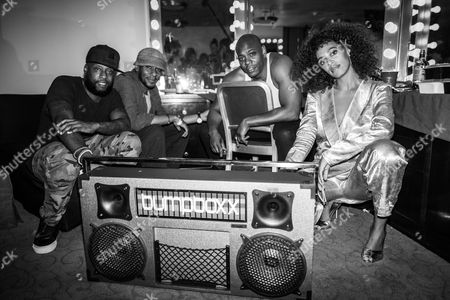 Talib Kweli, Mos Def aka Mos Def, Dave Chappelle and Solange Knowles