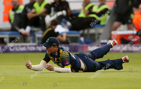 Editorial picture of Glamorgan v Leicestershire - NatWest T20 Blast Quarter Final - 23 Aug 2017