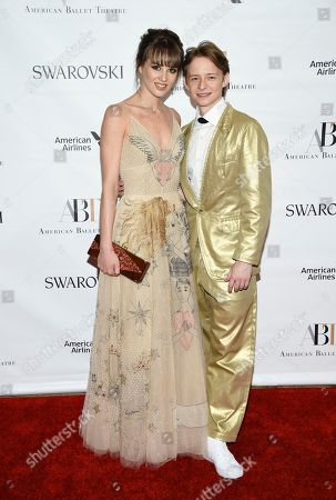 Julie Granger, Daniil Simkin Ballet dancers Julie Granger, left, and Daniil Simkin attend the American Ballet Theatre's 2017 Spring Gala at The Metropolitan Opera House, in New York