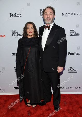 Georgiana Thomas, Richard Thomas Richard Thomas and wife Georgiana attend the 69th Annual Parsons Benefit at Pier Sixty, in New York