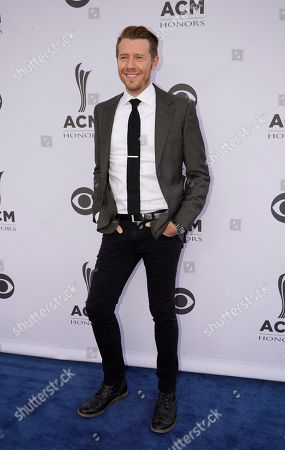 Danny Rader arrives at the 11th annual ACM Honors at Ryman Auditorium, in Nashville, Tenn
