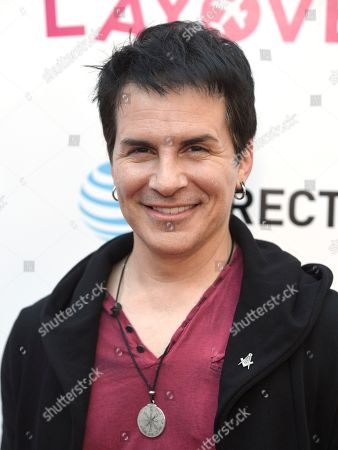 "Hal Sparks arrives at the Los Angeles premiere of ""The Layover"" at the ArcLight Hollywood on"